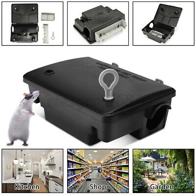 Rodent TrapsRats /& MiceBait Boxes Little Nipper Humane