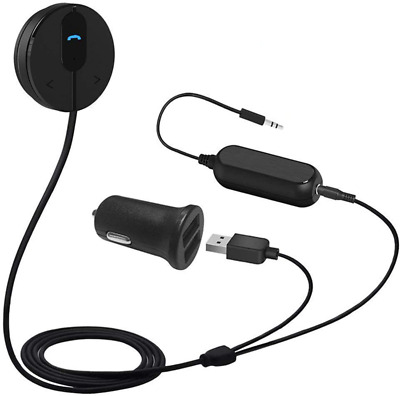 Besign BK01 Bluetooth Car Kit, Wireless Receiver for Handsfree Talking and Music