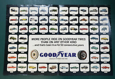 Vintage Goodyear Advertisement 1967 Magazine Two-page Ad