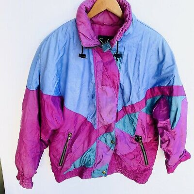 80s some wearstain retro see description jacket Max Active youth large 1416 90s