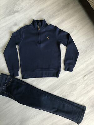 Boys Ralph Lauren Top & Next Jeans Age 5