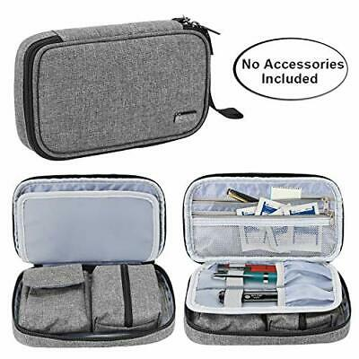 Diabetic Travel Bag, Diabetic Storage Case for Glucose Meter and Other