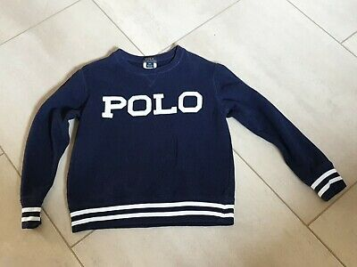 Boys blue POLO Ralph Lauren Jumper S (8)