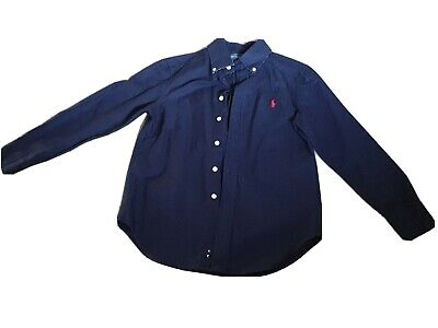 Boys Blue POLO Ralph Lauren Shirt S (8)