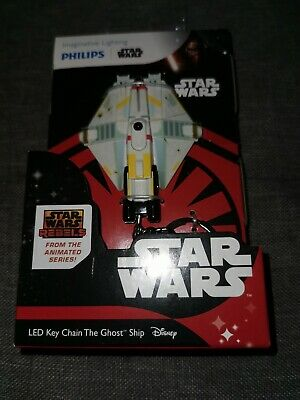 Disney Star Wars Rebels 'The Ghost Ship' Key Chain With Led Torch