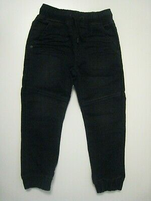 Next Boys Black Jeggings Joggers Jeans Trousers - 4 Years - Free P&P
