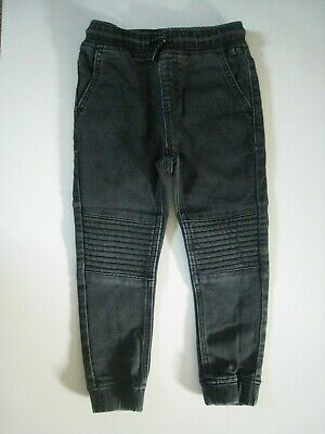 Next Boys Kids Black Jeans Joggers Trousers - 4 Years - Free P&P