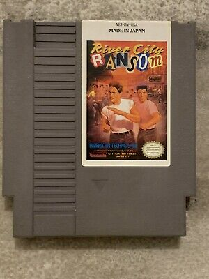 Box Only Top Quality River City Ransom NES Entertainment System