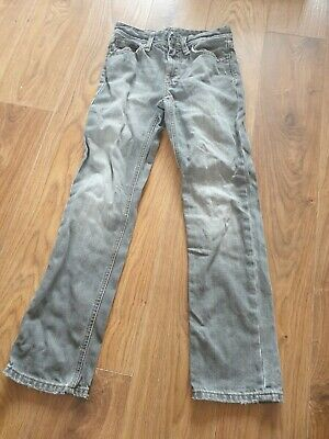 Boys Grey Ralph Lauren Polo Jeans VGC Age 10 Years