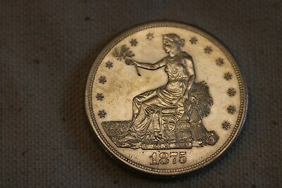 1875-S Trade$  - Great Type Coin - /PL UNC