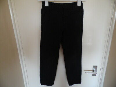 Boys Black Jeans with adjustable Waist & Button - Zip Fastening size 8-9 years