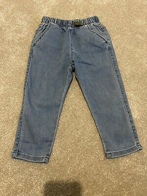 Boys Straight Leg Jeans. From Zara. Age 2-3