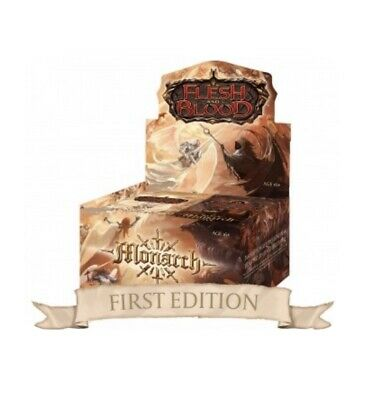 Monarch First Edition Flesh and Blood Preorder Booster BOX CONFIRMED English