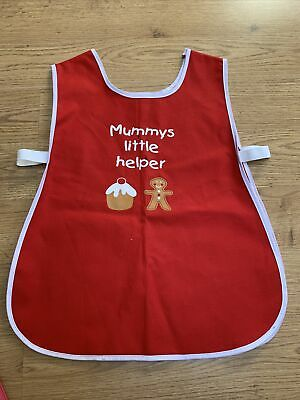 Mummys Little Helper Apron age 4-5 years