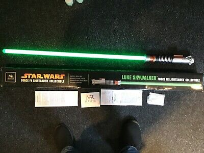 STAR WARS Force FX Lightsaber LUKE SKYWALKER Green Master Replicas SW-212