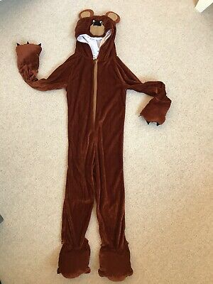 Bear Outfit For 4-6 Yr Old