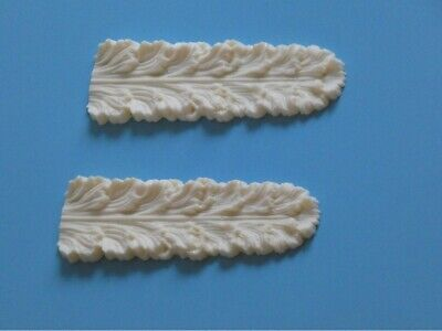 SHABBY CHIC DECORATIVE FRENCH COUNTRY MOULDING Shell Resin 18x7cm