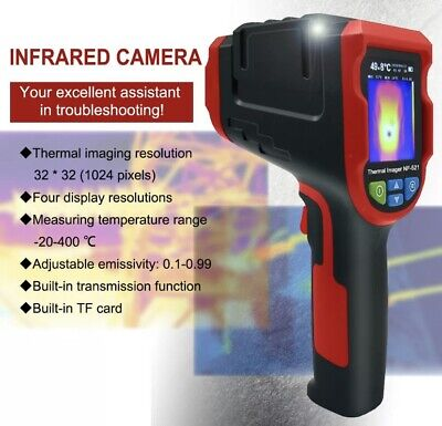 NF-521 Infrared Thermal Imager Camera Temperature Imaging With Micro TF Card 8GB