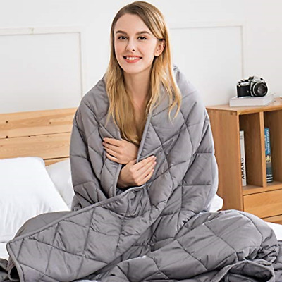 jaymag Weighted Blanket 7kg for Adults Kids Children Autism Therapy Blankets for