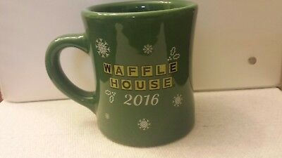 Waffle House Coffee Mug Rare 2016 Christmas  Brand New Free Shipping