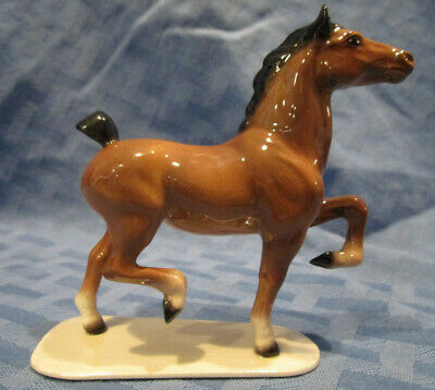 Hagen Renaker Specialty Horse, Hackney Pony, on Base, #3394, Made in USA