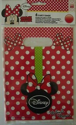 Disney Minnie Mouse Party Loot Bag -Birthday Party Celebration