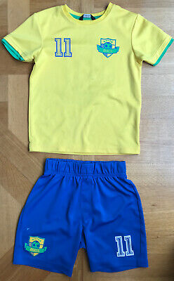 George . Brazil Kit Age 6-7 Unisex Number 11