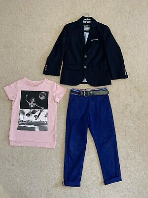 Boys Bundle Size 5-6 Years Next New Blazer Ted Baker Trousers Tshirt Smart Party