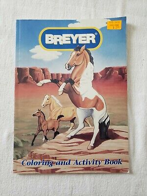 Breyer Horse Coloring and Activity Book Puppets Word Scramble Mazes