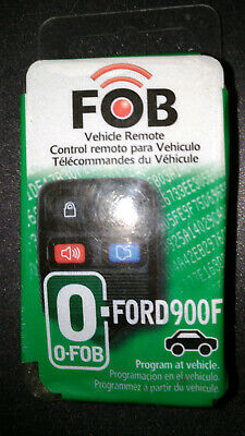 Hy-Ko 19FORD900F Ford 4-Button Key Programmable FOB Remote Keyless Entry