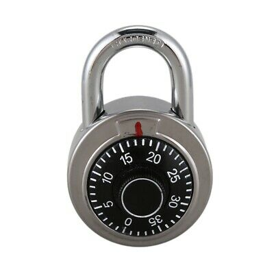 Master Coded Lock 50mm With Round Fixed Dial Combination Padlock Defender N3K5