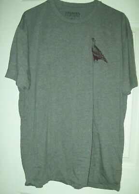 The Famous Grouse Whisky Short Sleeve Gray T-Shirt size XL - NEW