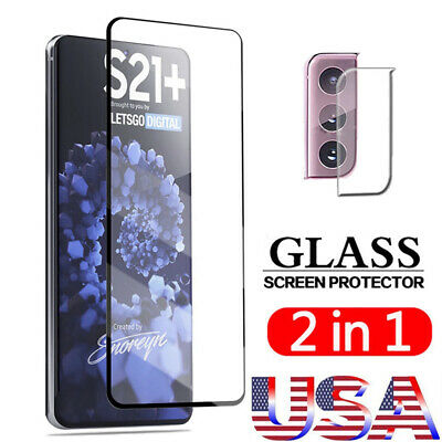 For Samsung Galaxy S21/Plus/Ultra Camera Lens & Tempered Glass Screen Protector
