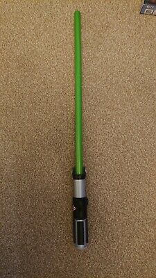 Disney Store - Star Wars - Yoda Green Lightsaber – Lights & Sound - Used