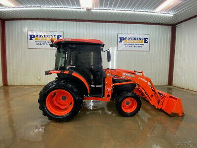2011 Kubota L3540 4Wd Hst Cab Compact Tractor With A/C And Heat!