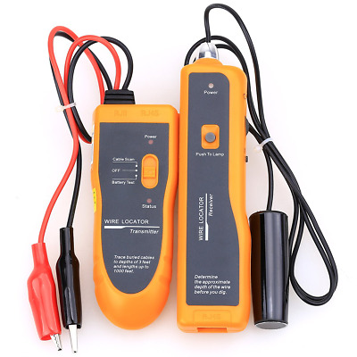Nf-816 Wire Cable Tester Underground Cable Tracker Wire Locator Metal Pipes Elec
