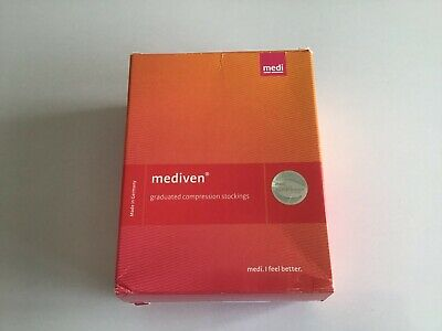 Mediven ELEGANCE Compression Stockings CCL 1 Size 4 Thigh Closed Toe Beige