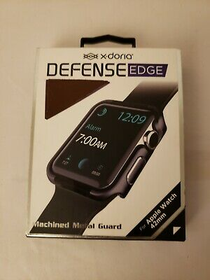 X-Doria Defense Edge Machined Metal Guard for Apple Watch 42mm