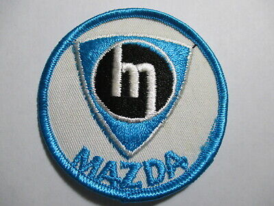 Mazda Embroidered Patch Vintage Original NOSRotary Engine RX7  3 X 3 INCHES