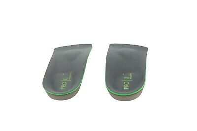 PRO 11 WELLBEING 3/4 Duo tech Layered Insoles with Metatarsal Raise and Arch