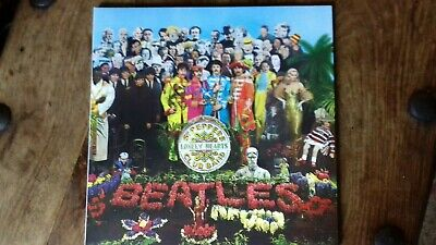 The Beatles Sgt Peppers Lonely Hearts LP Deagnosti version with Booklet Unplayed