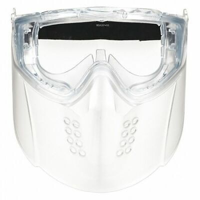 Msa 10150069 Faceshield Goggle Assembly,Clear Visor
