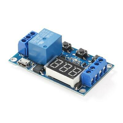 DC 6-30V 1 Way Automation Cycle Delay Timer Control Off Switch Relay Module ☀