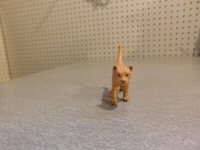 Schleich Vintage Retired 2003 Orange Tabby Cat 13286- Excellent Used Condition