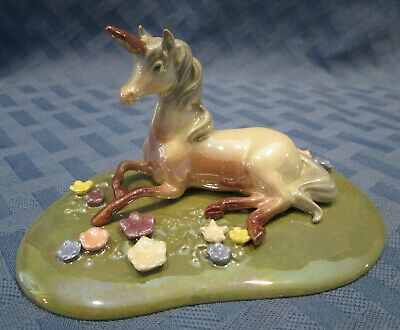 Hagen-Renaker Specialty Unicorn on Base, #03040, Made in USA