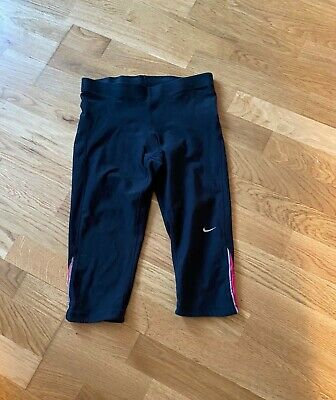Nike cropped leggings Size S