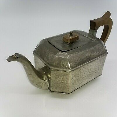 Vintage Craftsman Pewter Tea Pot