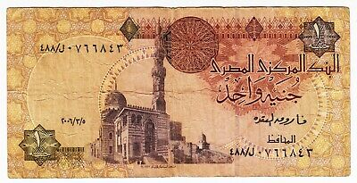 1978-87 Egypt 1 Pound - Low Start - Paper Money Banknotes Currency