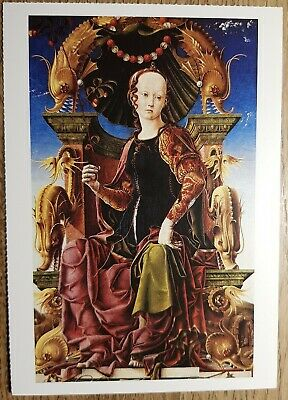 Tura (An Allegorical Figure) Postcard - National Gallery Publications No:1714