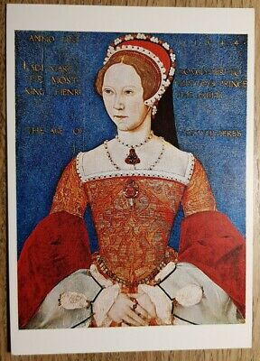 Queen Mary I Postcard - National Portrait Gallery - W.S. Cowell Ltd